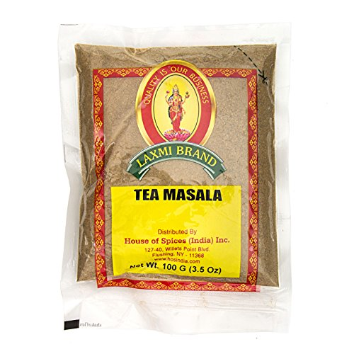 Aromatic Indian Dishes (Laxmi Natural Tea Masala - Traditional Indian Tea Masala - 3.5oz (100g))