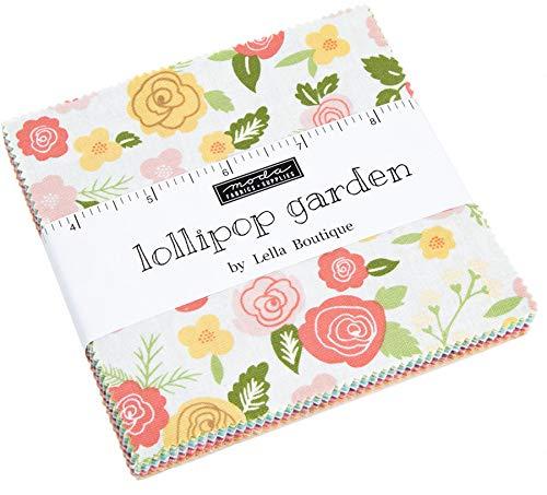 Garden Quilting Fabric - MODA Lollipop Garden Charm Pack by Lella Boutique; 42-5
