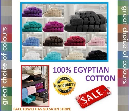 VANILLA BATH SHEET 100/% EGYPTIAN COTTON SATIN STRIPE BATH SHEET hachette