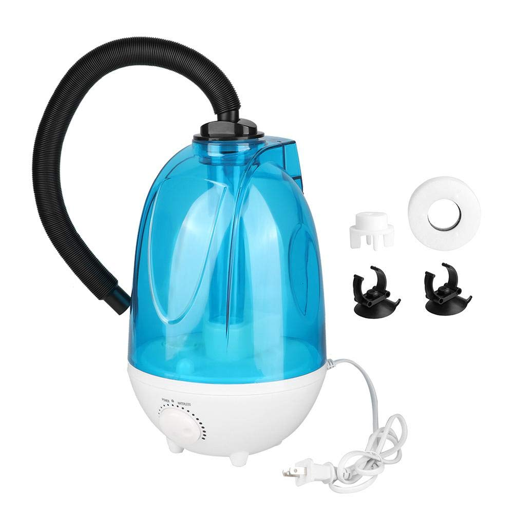 Reptile Humidifier, 4L Mute Mist Making Machine Reptile Air Aroma Ultrasonic Diffuser Water Mist Dispenser for Reptiles Amphibians (US Plug) by Hffheer