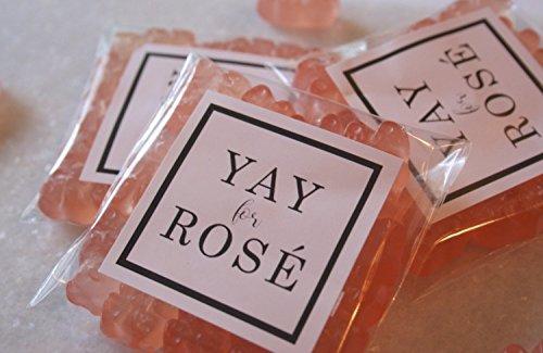 Yay For Rosé, Yes Way Rosé, Bachelorette Party Favors, Rosé Candy, Rosé All Day, Rosé, Wedding Favors, Bridal Shower Favors, Bridesmaids Gifts, Bridesmaids ()