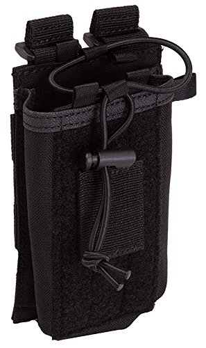 5.11 Radio Pouch Compatible with 5.11 Bags/Packs/Duffels, Style 58718, - Double Mag 511 Pouch