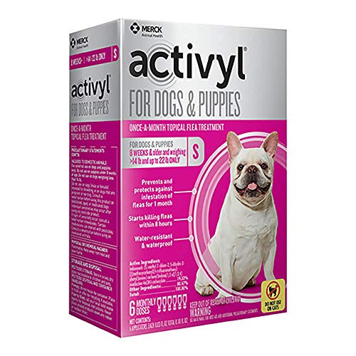 Activyl Small Dogs & Puppies 15-22lbs, 6-pack