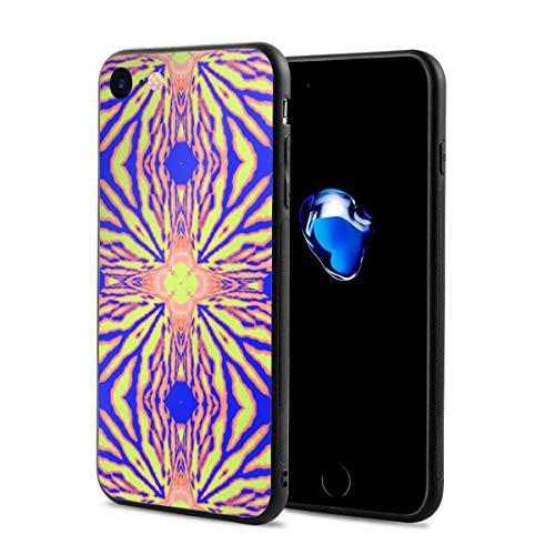 iPhone 8 Case iPhone 7 Case with Iris Tiger 1 Fabric Print