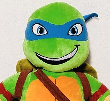 Build a Bear Workshop Leonardo Teenage Mutant Ninja Turtle TMNT 17 in. Stuffed Plush Toy
