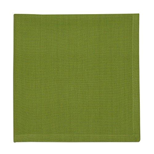 DII 100% Cotton, Oversized Basic Everyday 20x20 Napkin Set of 6, Gecko Green