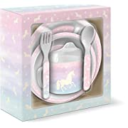 Lady Jayne 5 Piece Feeding Gift Set (Magical Unicorn)