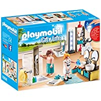 PLAYMOBIL® Bathroom Set Building