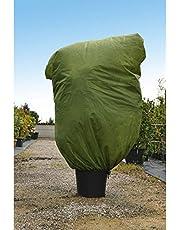 Verdemax 636589 Cappuccio Protezione Piante in TNT Verde 45G/mq, Green