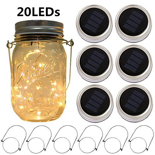 Turn Mason Jars Into Solar Lights