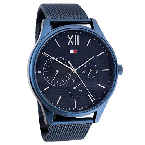Tommy Hilfiger Blue Stainless Steel Watch-1791421