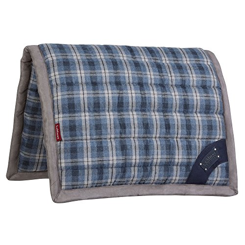 Le Mieux Heritage Plaid Pillow Pad (Navy, Large) ()