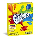 Fruit Gushers Variety Pack, 6 Count (Pack of 12)