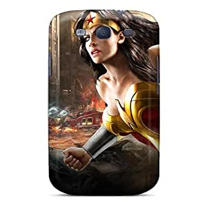 KerryParsons Samsung Galaxy S3 Durable Hard Cell-phone Case Customized Stylish Wonder Woman Dc Universe Online Skin [ogh2709jDXY]