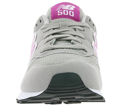 Shoes New 500 gw500pg Balance fucsia Grigio W a5wSqUrxv5