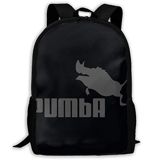 Pumba Pig Woman Pullover Travel Laptop Backpack - Extra Large College  School Backpack for Mens and fddf86c425