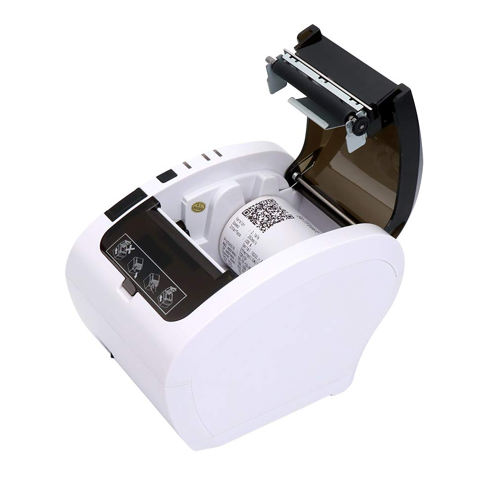 Amazon.com: POS Receipt Printer Bluetooth 80mm Direct ...
