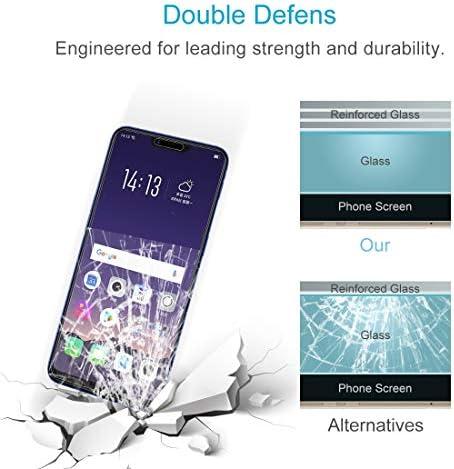 WTYD 電話アクセサリー 100 PCS 0.26mm 9H 2.5D OPPO AX5用強化ガラスフィルム