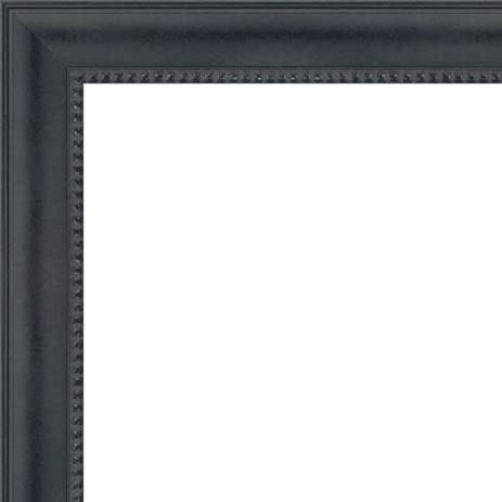 Amazon.com - 14x36 - 14 x 36 Black Castle Solid Wood Frame with UV ...
