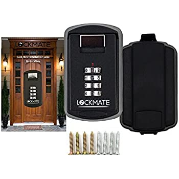 Key Lock Box 4 Digit Security Combination Passcode For