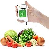 GREENTEST, Nouveau Nitrate-testeur pour les fruits et légumes, de haute précision et détecteur de Nitrate (Blanc)