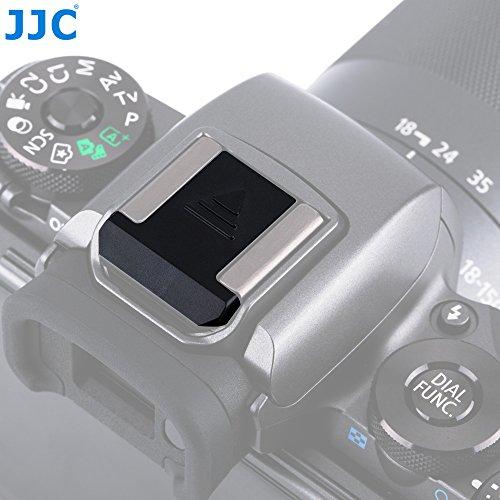 JJC Black Camera Hot Shoe Cover Anti Scratch Protector Cap for Canon EOS R 6D Mark II 6DM2 7D MarkII 5DM3 5DM4 5DsR 77D 80D 70D 60D 800D 760D 750D 700D 100D 200D / Rebel T7i T6s T6i T5i T4i SL1 SL2