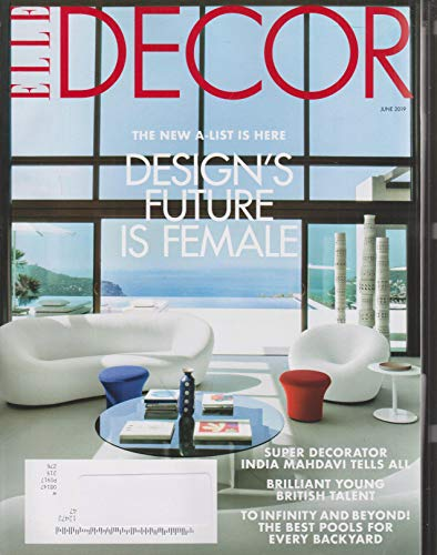 Elle Decor Magazine - Elle Decor June 2019 Design's Future Is Female