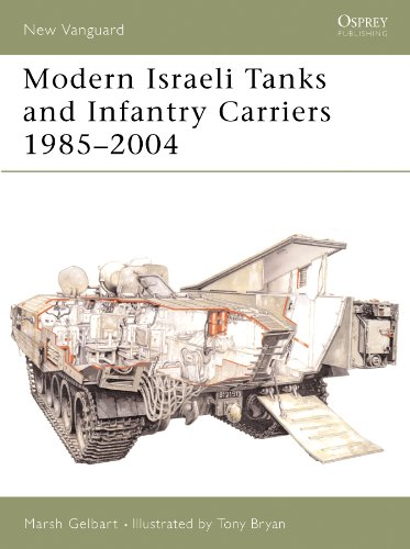 Modern Israeli Tanks and Infantry Carriers 1985-2004 (New Vanguard Book 93)