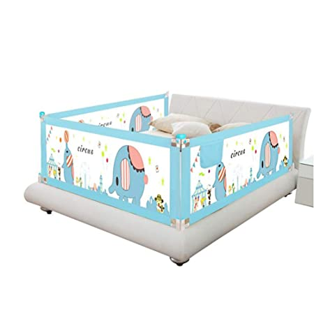 Size : 150cm Bed Rails for Toddlers Bed Rails Portable Foldable Child Bed Side Baffle Child Swing Bed Rails with Lockable Toddler Toys Crib guardrail