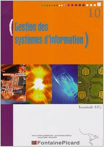 Téléchargements gratuits pour ebook Gestion des systèmes d'information Tle STG 2744617385 PDF DJVU