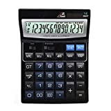 ZHAS Professional Desktop Calculator,Office/Business/Electronic calculators with 14-digit Large Display, Solar and AAA Battery Dual Power for Office