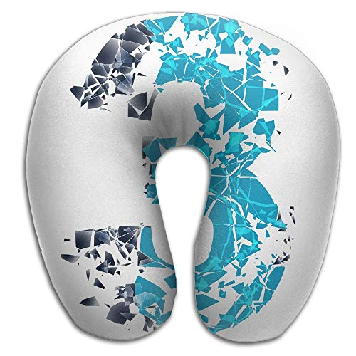 Owen Pullman Travel Pillow Number 3 Memory Foam Neck Pillow Comfortable U Shaped Neck Support Plane Pillow