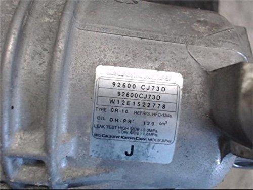 日産 純正 ウイングロード Y12系 《 Y12 》 エアコンコンプレッサー P90200-18007052