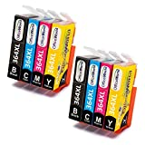 OfficeWorld Replacement for HP 364XL Ink Cartridges Compatible for HP Photosmart 5510 5520 5522 6520 B8550 C5388 Deskjet 3070A (2 Black, 2 Cyan, 2 Magenta, 2 Yellow)