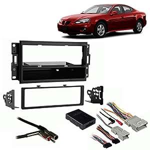 fits pontiac grand prix 04 08 single din harness radio install dash kit car electronics. Black Bedroom Furniture Sets. Home Design Ideas