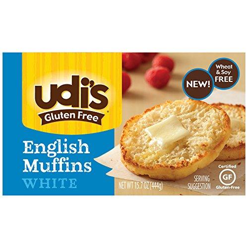 Udi's Gluten Free White English Muffins, 15.66 Oz {Case of 6}