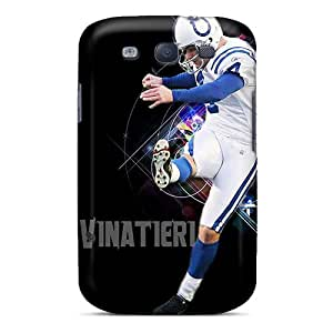 Protector Hard Phone Case For Samsung Galaxy S3 With Support Your Personal Customized High Resolution Indianapolis Colts Series CharlesPoirier