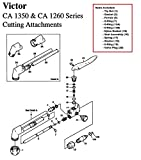 51hs2K9I34L. SL160  - Victor 0390-0009 Repair Kit, Ca1350 [Misc.]