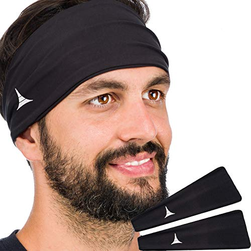 French-Fitness-Revolution-Mens-Headband-Guys-Sweatband-Sports-Headband-for-Running-Crossfit-Working-Out-Versatile
