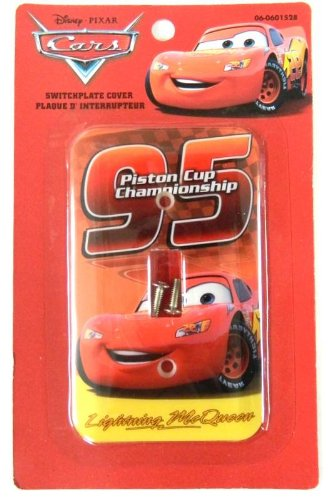 (Disney Pixar Cars Light Switch Plate Cover )
