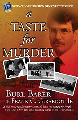 book cover of A Taste For Murder