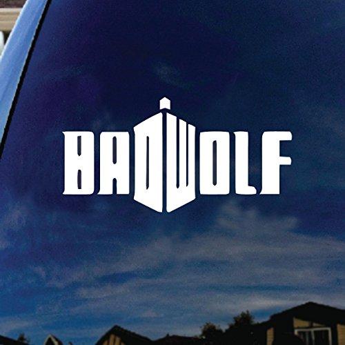 wolf window decal - 6