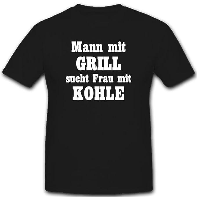 Muñeco con barbacoa sucht Mujer con carbón FUN Humor Diversión Fiesta Grillen - Camiseta # 7882 -: Amazon.es: Ropa y accesorios