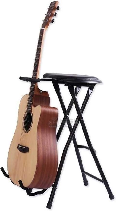 Stagg - Taburetes para guitarra (plegable, con soporte integrado ...