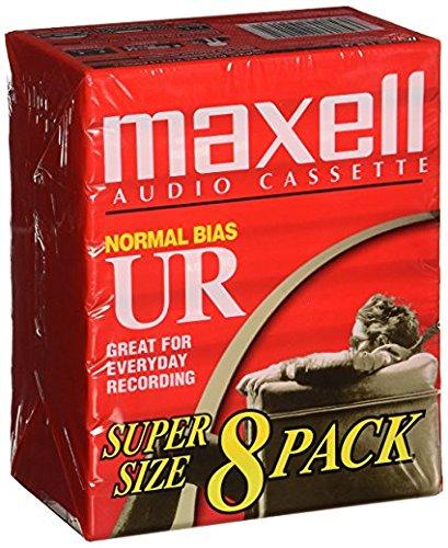 Maxell UR-60 Blank Audio Cassette Tape - 16 Pack (109085)