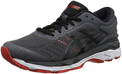 Grigio black Gel Asics Uomo Running kayano fiery Red dark 24 Grey Scarpe xHrZprnW