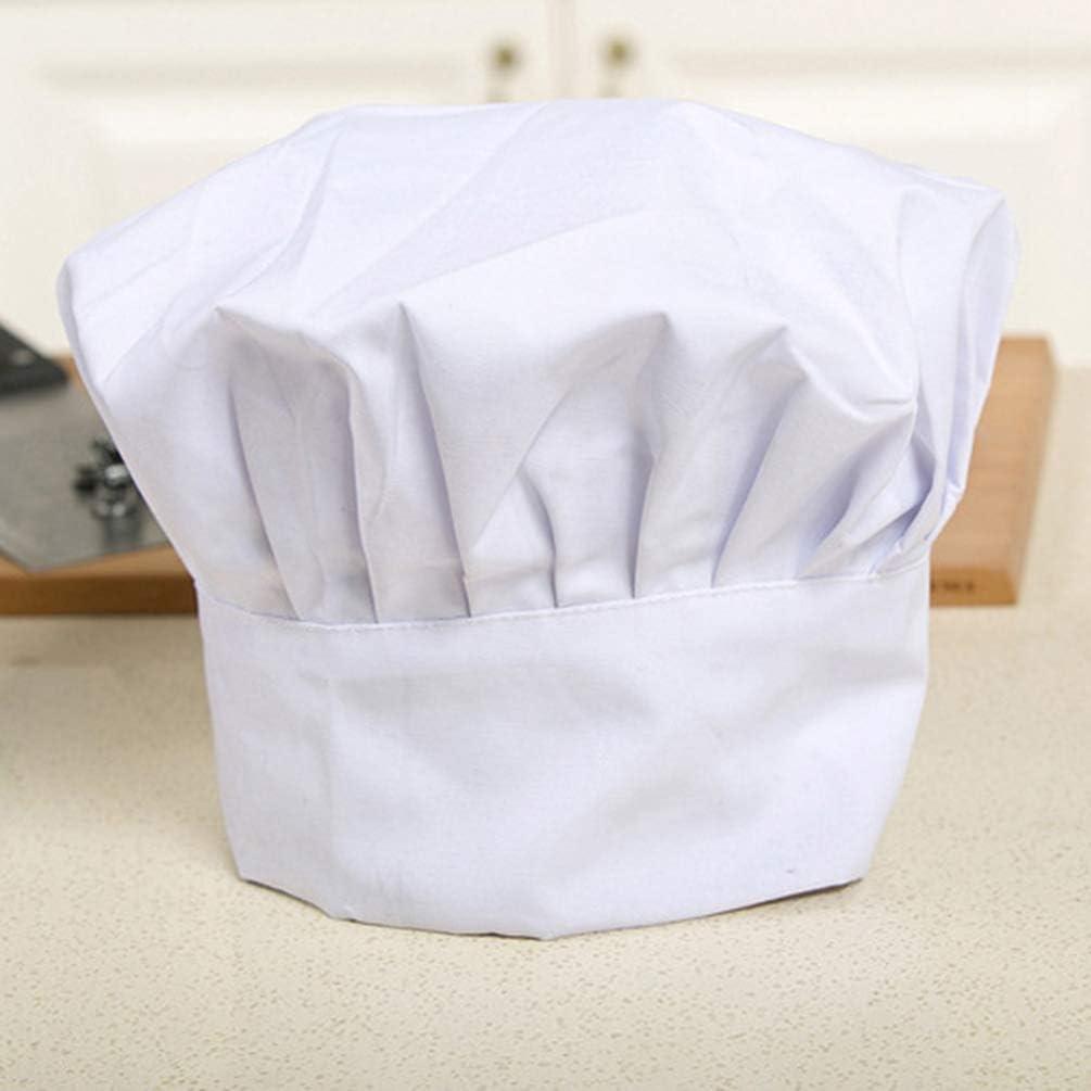 Tookang Miscela di Cotone Regolabile Elastico Cucina Cucinando Cappello da Cuoco Cappelli per Cuochi Adulti cap Chef