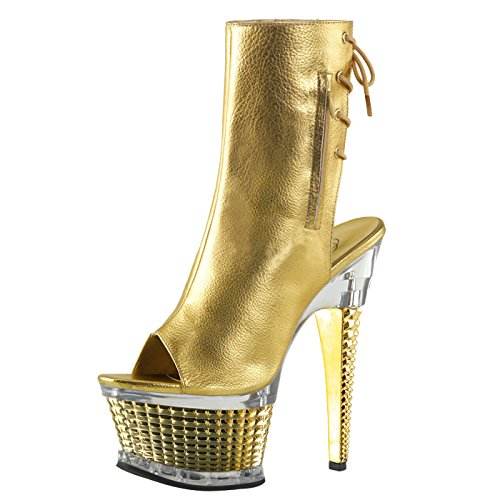 Pleaser - Sexier Than Ever Sling Peeptoe Stiefel ILLUSION-1018CH