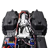 GRC TRX4 G2 Motor Pre-gear Box T4 Front Electric Motor Kit V8 Compatible for 1/10 RC TRX-4