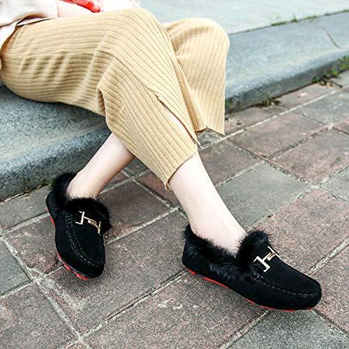 De Y Modelo Caliente Algodón Terciopelo Coreano Zapatos pvxqS6